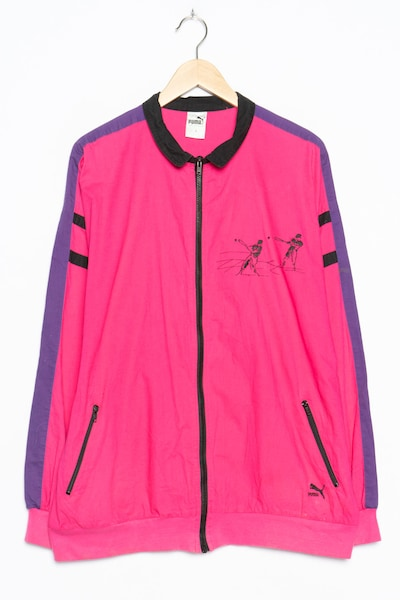 PUMA Sportjacke in L in rosa, Produktansicht