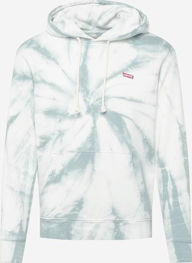 LEVI'S Mikina - modrosivá / biela, Produkt