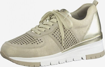 Sneaker low TAMARIS pe auriu, Vizualizare produs