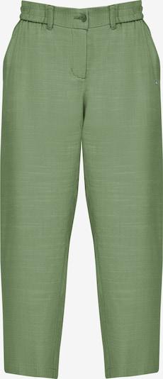 Finn Flare Caprihose in grün, Produktansicht