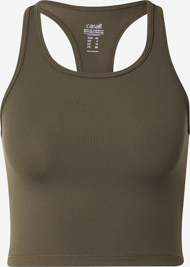 Casall Sporttop in dunkelgrün, Produktansicht