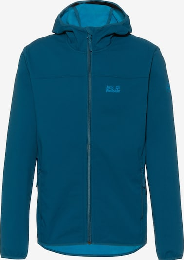 JACK WOLFSKIN Softshelljacke 'Northern Point' in blau, Produktansicht