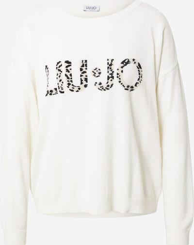 LIU JO JEANS Sweater in Beige / Cream / Black, Item view