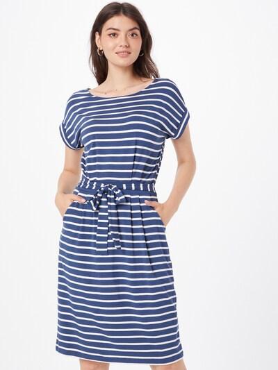 s.Oliver Kleid in taubenblau / weiß, Modelansicht
