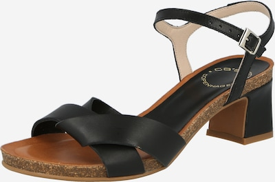 Sandale Ca'Shott pe negru, Vizualizare produs