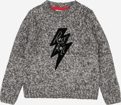 Boboli Pullover 'Rock' in anthrazit / schwarz, Produktansicht