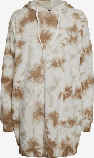 Noisy may Kleid in beige / braun, Produktansicht