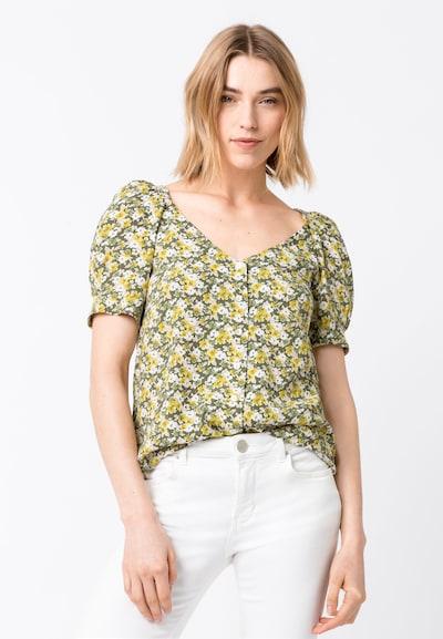 HALLHUBER Bluse in mischfarben, Modelansicht