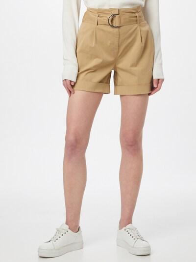 Calvin Klein Bundfaltenhose in sand, Modelansicht