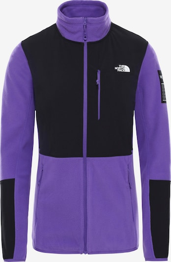 THE NORTH FACE Fleecejacke 'DIABLO' in dunkelgrau / lila, Produktansicht