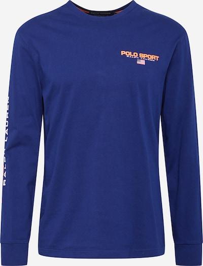 POLO RALPH LAUREN Shirt in royalblau / dunkelorange / weiß, Produktansicht