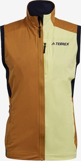 adidas Terrex Weste 'Terrex Xperior' in blau / braun / grün / schwarz, Produktansicht