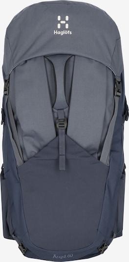 Haglöfs Sportrugzak 'Ängd 60 S-M' in de kleur Blauw / Grijs, Productweergave