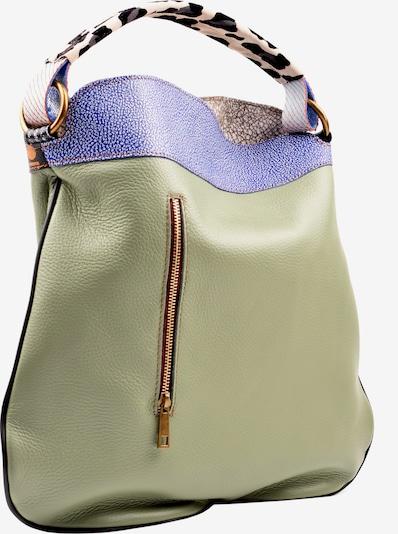ebarrito Henkeltasche 'CORINTO EBY BAG' in beige / blau, Produktansicht