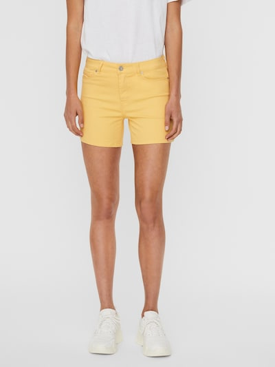 VERO MODA Shorts 'Hot Seven' in senf, Modelansicht
