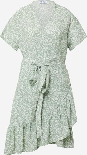 Rochie 'BLOOMING DAISY' CATWALK JUNKIE pe verde mentă / alb, Vizualizare produs