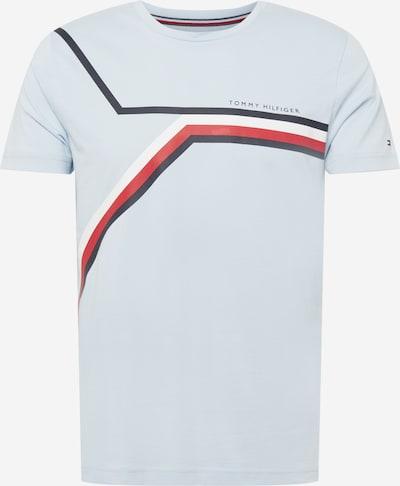 TOMMY HILFIGER Shirt in de kleur Marine / Lichtblauw / Rood / Wit, Productweergave