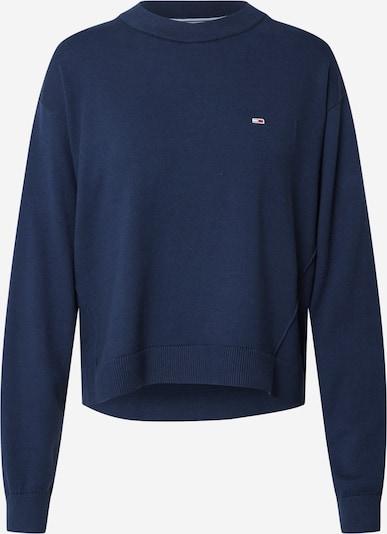 Tommy Jeans Pullover in nachtblau / rot / weiß, Produktansicht