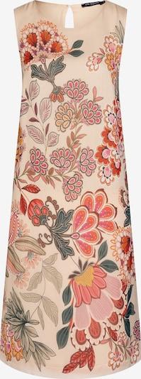 Ana Alcazar Kleid 'Cavos' in nude / grün / pink / rot, Produktansicht