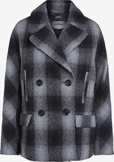 SET Manteau mi-saison en gris / noir, Vue avec produit