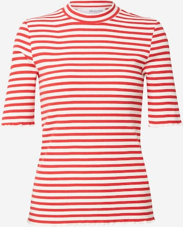 SELECTED FEMME Shirt in Red