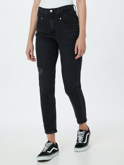 Jeans Calvin Klein Jeans pe albastru noapte, Vizualizare model