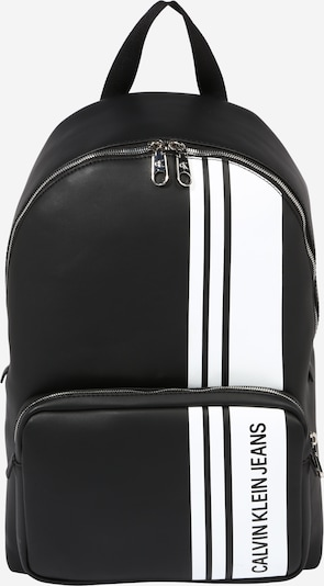 Calvin Klein Jeans Batoh 'CAMPUS BP43' - černá / bílá, Produkt