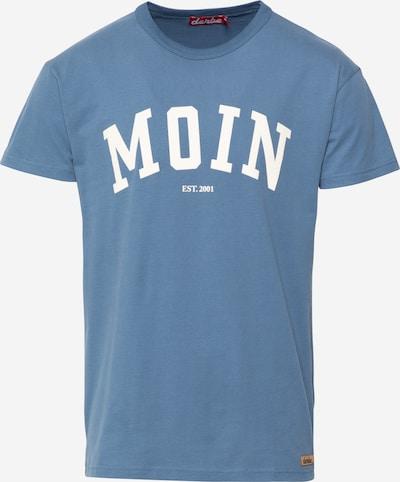 Derbe Shirt in de kleur Smoky blue / Wit, Productweergave