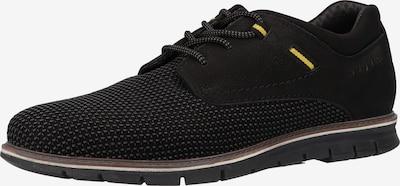 bugatti Δετό παπούτσι 'Simone' σε κίτρινο / γκρι / μαύρο, Άποψη προϊόντος