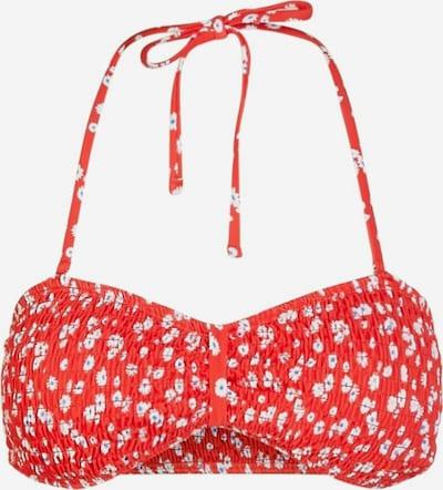 PIECES Bikini en rouge / blanc, Vue avec produit