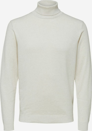 SELECTED HOMME Pullover in weißmeliert, Produktansicht