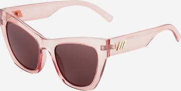 LE SPECS Sonnenbrille в розово
