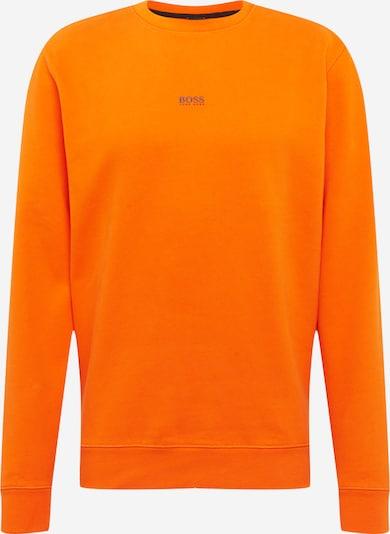 BOSS Majica 'Weevo' | mornarska / neonsko oranžna barva, Prikaz izdelka