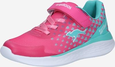 KangaROOS Sneaker 'Brisk' in türkis / pink, Produktansicht