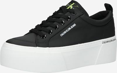 Sneaker low Calvin Klein Jeans pe negru / alb, Vizualizare produs