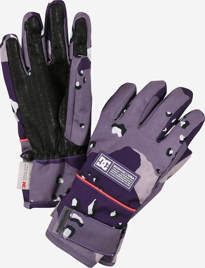 DC Shoes Спортни ръкавици 'FRANCHISE' в пастелнолилаво / светлолилаво / тъмнолилаво / корал / черно, Преглед на продукта