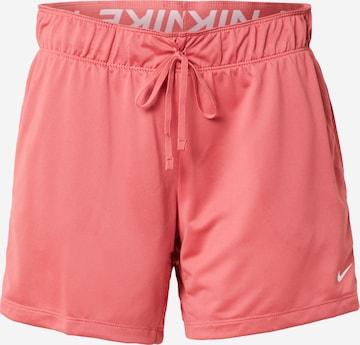 NIKE Παντελόνι φόρμας 'Attack' σε ροζ