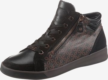 ARA High-Top Sneakers 'ROM' in Black