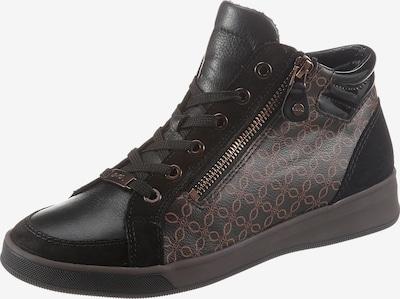 Sneaker înalt 'ROM' ARA pe maro / negru, Vizualizare produs