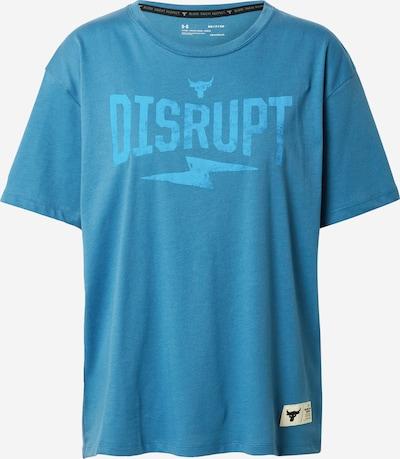UNDER ARMOUR Functioneel shirt 'Rock Disrupt' in de kleur Blauw / Lichtblauw, Productweergave