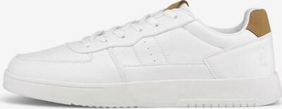 TOM TAILOR DENIM Sneaker in cognac / weiß, Produktansicht