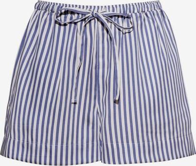 Underprotection Pyjamahose 'Saga' in blau / weiß, Produktansicht