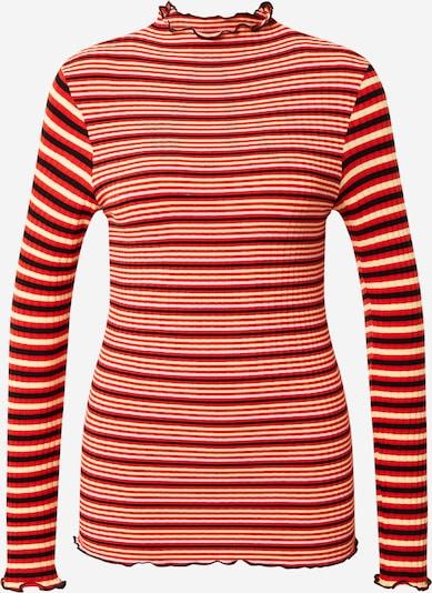 MADS NORGAARD COPENHAGEN Shirt in Beige / Blood red / Black / White, Item view