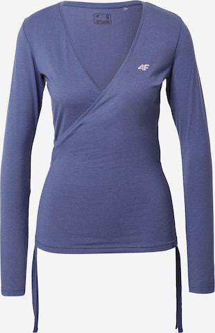 4F Funksjonsskjorte i blå