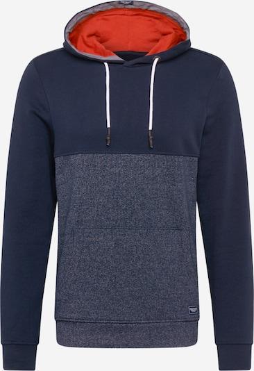 TOM TAILOR Bluzka sportowa w kolorze ciemny niebieski / szary / pomarańczowo-czerwonym, Podgląd produktu