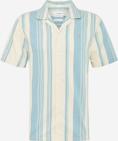 FARAH Koszula 'THEROUX' w kolorze kremowy / jasnoniebieskim, Podgląd produktu