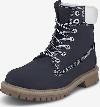 TOM TAILOR Boots in blau / weiß, Produktansicht