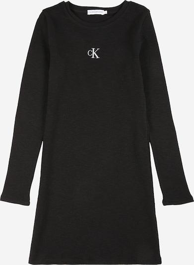 Calvin Klein Jeans Dress in mottled black / White, Item view