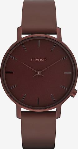 Komono Analog Watch in Red