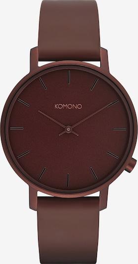 Komono Analog Watch in Bordeaux, Item view